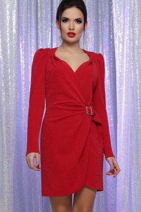 платье Николь-1 д/р. Цвет: красный