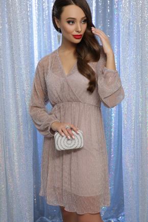 платье Рузалия д/р. Цвет: пудра