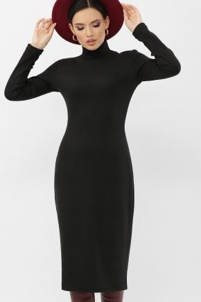 Платье Ульрика д/р. Цвет: черный