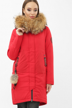 Куртка 2155. Колір: 14-красный
