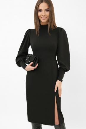 Платье Айла д/р. Цвет: черный