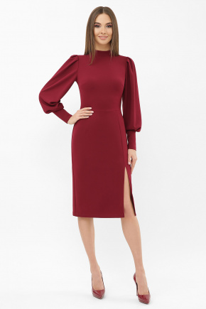 Платье Айла д/р. Цвет: бордо