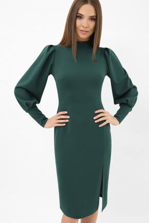 Платье Айла д/р. Цвет: изумруд