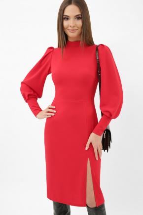 Платье Айла д/р. Цвет: красный