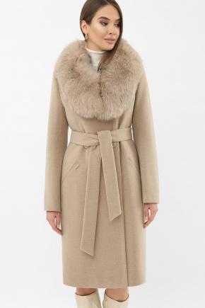 Пальто MS-255 Z. Цвет: 132-бежевый