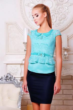 блуза Соня к/р. Цвет: мята