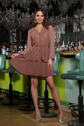 Платье Лора д/р. Цвет: капучино