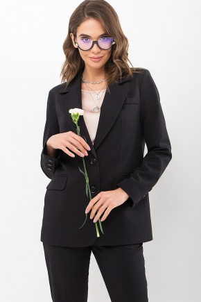 Пиджак Сабера д/р. Цвет: черный