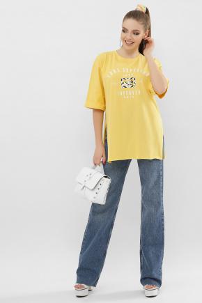 2606 Футболка VL. Цвет: желтый