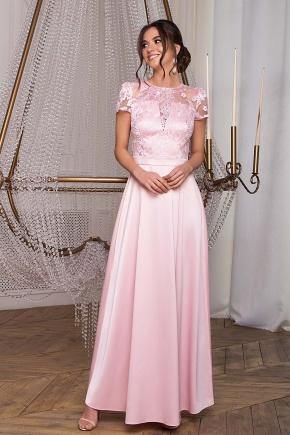 Платье Лорена к/р. Цвет: пудра