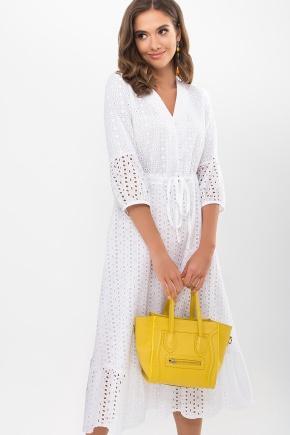 Платье Севилья 3/4. Цвет: белый