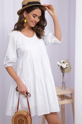 Платье Кати-1 к/р. Цвет: белый
