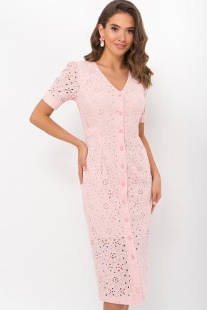 Платье Клера к/р. Цвет: персик
