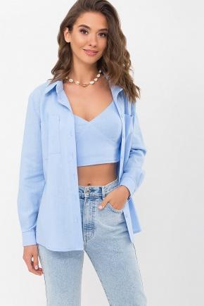 Рубашка Оделис д/р. Колір: голубой