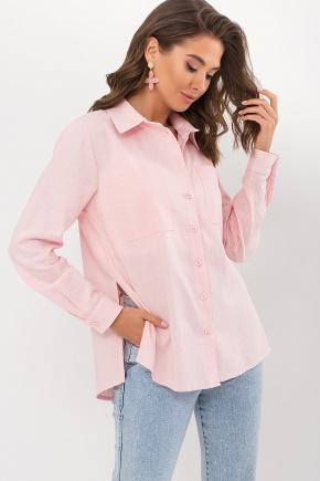 Рубашка Оделис д/р. Колір: пудра