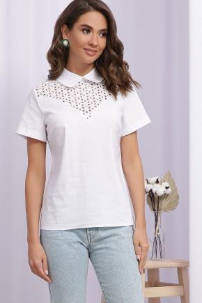 Блуза Сейхана к/р. Цвет: белый