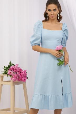 Платье Коста-Л к/р. Цвет: голубой
