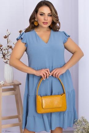 Платье Ярия-Б б/р. Цвет: джинс