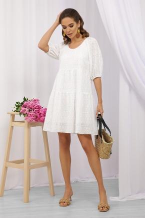 Платье Кати к/р. Цвет: белый 2