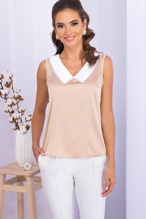 Блуза Мурел б/р. Цвет: св. бежевый