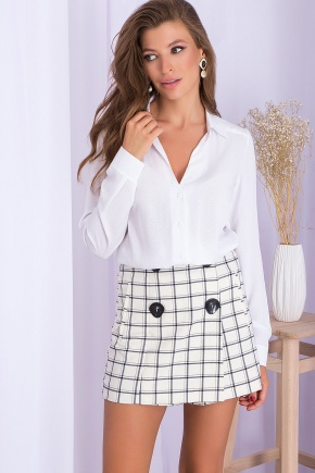 Блуза Ориса д/р. Цвет: белый
