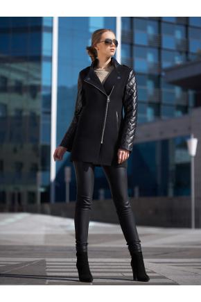 пальто Пекин. Цвет: черный