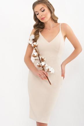 Платье Кеори б/р. Цвет: св. бежевый