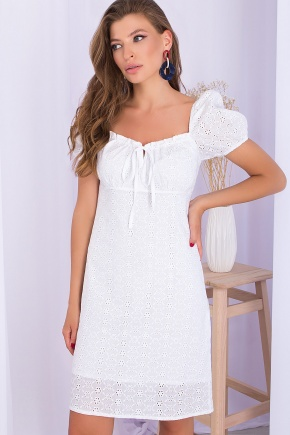 Платье Бажена к/р. Цвет: белый 2