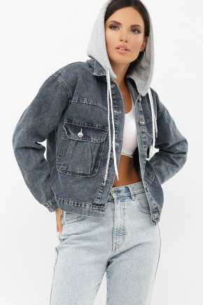 4001 AST Куртка VА. Цвет: т.джинс