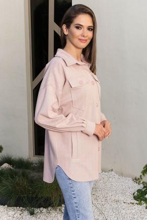 Рубашка Антея д/р. Цвет: пудра