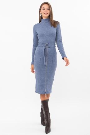 Платье Виталина 1 д/р. Цвет: джинс