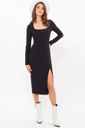 Платье Некста д/р. Цвет: черный