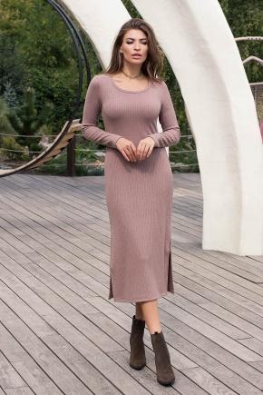 Платье Юмми д/р. Цвет: капучино