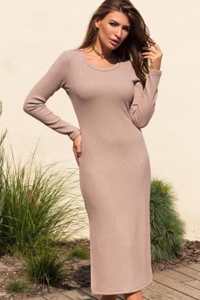 Платье Юмми д/р. Цвет: св. бежевый