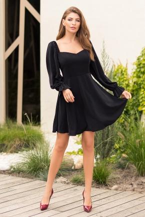 Платье Акусма д/р. Цвет: черный