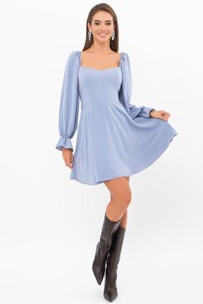 Платье Акусма д/р. Цвет: джинс