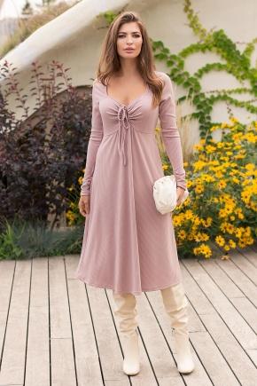 Платье Барум д/р. Цвет: пудра