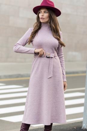 Платье Инетта д/р. Цвет: пыльная роза
