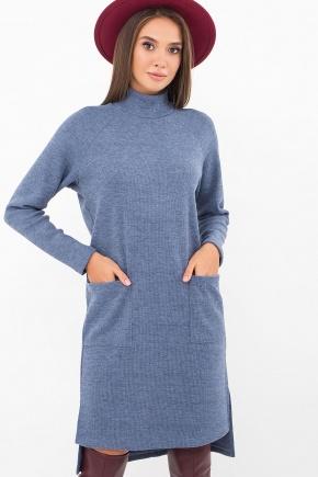 Платье Лакси д/р. Цвет: джинс