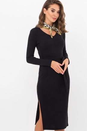 Платье Пина д/р. Цвет: черный