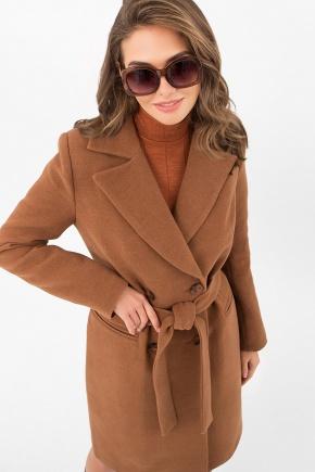 Пальто MS-282-D. Цвет: 326-коричневый