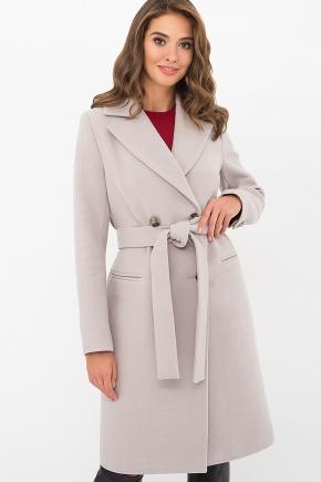 Пальто MS-282-D. Цвет: 361-св.серый