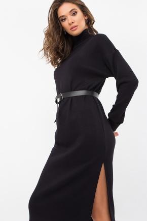Платье Галарена д/р. Цвет: черный