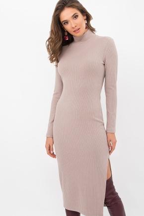 Платье Либерти д/р. Цвет: св. бежевый