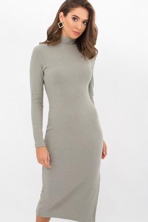 Платье Либерти д/р. Цвет: оливковый