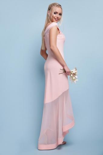 вечернее персиковое платье. Платье Ингрид б/р. Цвет: персик цена