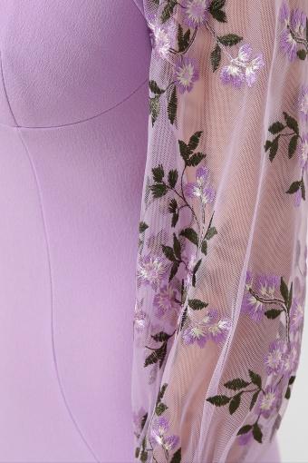 нарядное лавандовое платье. Платье Флоренция В д/р. Цвет: лавандовый 1 недорого