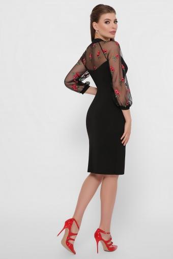 нарядное лавандовое платье. Платье Флоренция В д/р. Цвет: черный 1 в Украине