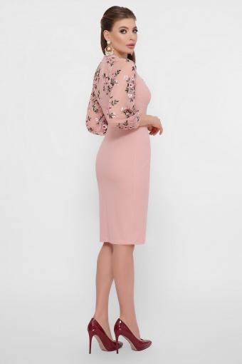 нарядное лавандовое платье. Платье Флоренция В д/р. Цвет: персик в Украине
