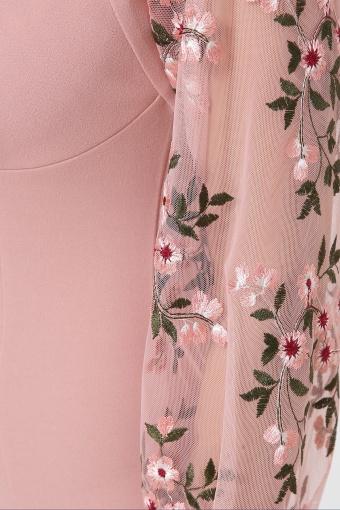 нарядное лавандовое платье. Платье Флоренция В д/р. Цвет: персик недорого